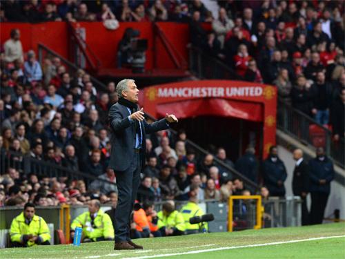"""Sân Old Trafford có thể sắp trở thành """"sân khấu"""" chính của Mourinho. Ảnh: Reuters"""