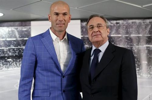 Zidane vừa là một HLV khao khát thành công, vừa là một cá nhân mang tính biểu tượng của Real. Ảnh: Reuters