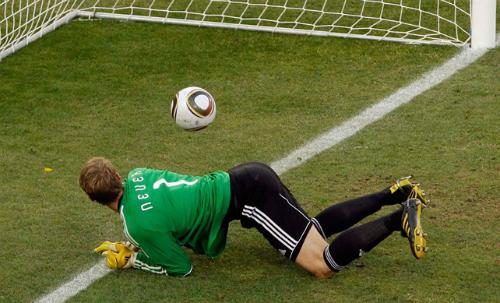 Tuyển Anh từng bị từ chối một bàn thắng ở World Cup. Ảnh: AFP.