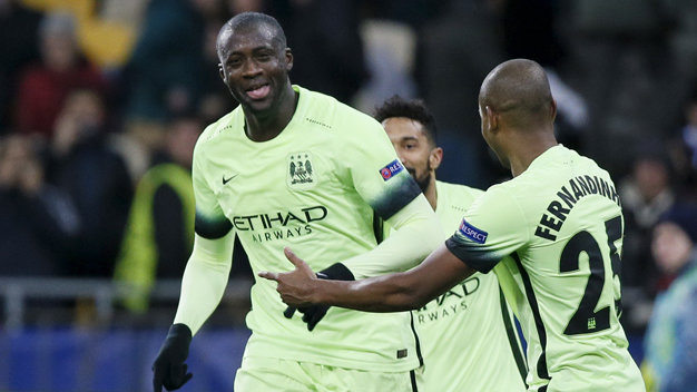 Dynamo Kiev v Manchester City - UEFA Champions League Round of 16 First Leg