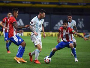 Keo bong da - Argentina thắng sát nút Chile