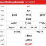 Cùng chúng tôi phân tích KQXS Đà Nẵng cực chuẩn ngày 15-11-2017