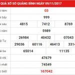 Cùng chúng tôi phân tích kết quả XS Quảng Bình ngày 16-11-2017