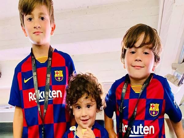 Con trai Messi – 3 cậu quý tử của Messi có điều gì đặc biệt?